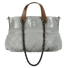 Slouchy Chanel purse